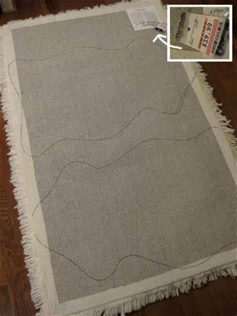 diy rug backing feeling sheepish a faux sheepskin rug part 1 house