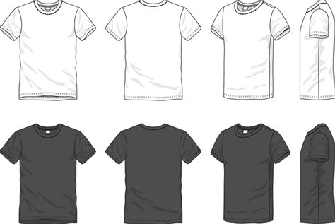 T Shirt Flat Sketches by V T Shirt Technical Drawing Zoeken
