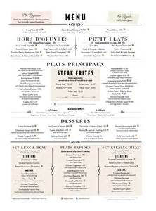 Cafe rouge has been developed using typography with a combination of