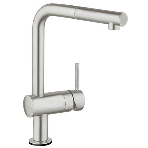 Grohe Kitchen Sinks Grohe Minta Touch Electronic Single Lever Kitchen Sink Mixer Tap Supersteel