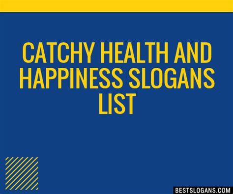 comfort in every bar slogan 30 catchy health and happiness slogans list taglines