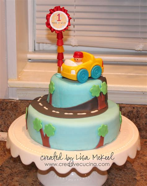 st birthday boy car cake creative cucina