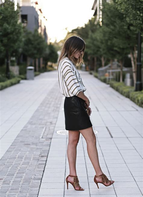 summer leather skirt redskirtz