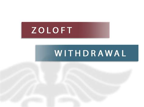 How To Detox From Zoloft zoloft withdrawal substance abuse and addiction