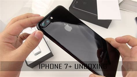 iphone 7 plus unboxing and setup