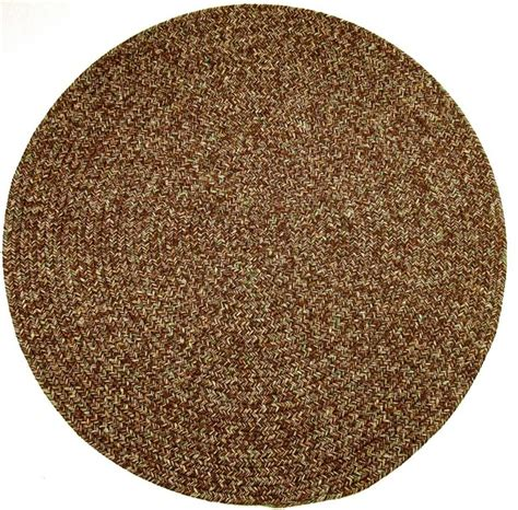 small round accent rugs 4 round small 4x4 rug brown textured braided