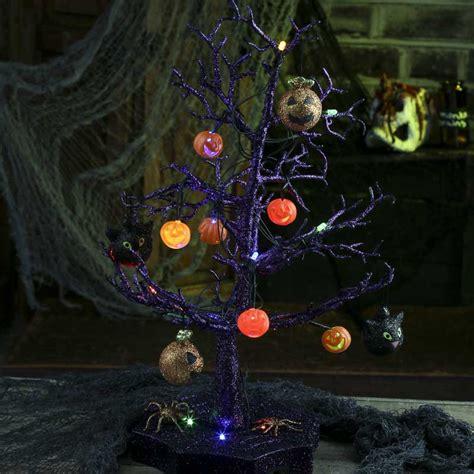 light up halloween tree spooky town light up halloween tree new items