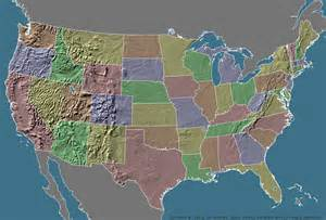 map of us geographic regions