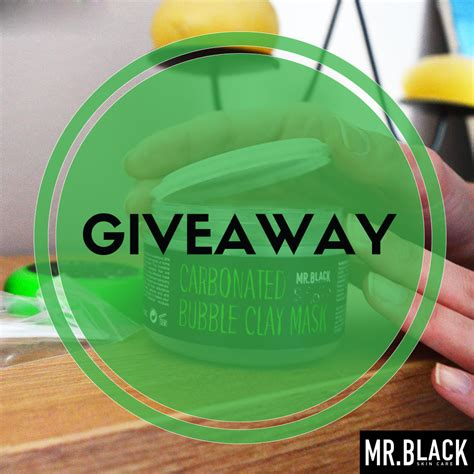 Mr Giveaway - giveaway mr black bubble maska lipstick and macaroons