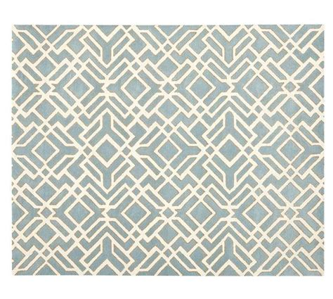 Shelby Rug Blue Pottery Barn Pottery Barn Blue Rug