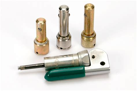 plunger style barrel locks  keys telecommunications