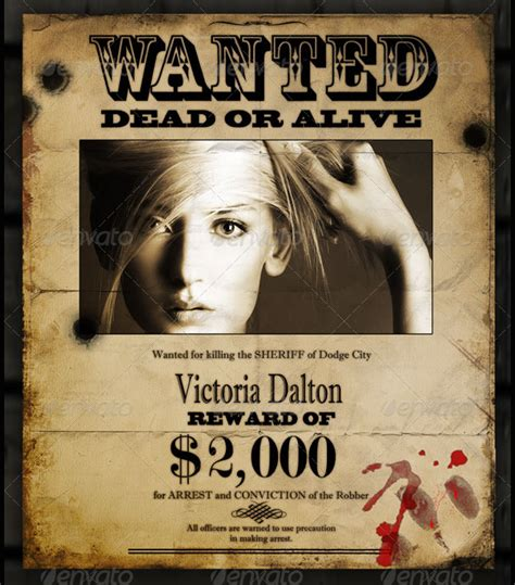 reward posters template 17 wanted posters free psd ai vector eps format
