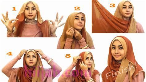 zuutell tutorial hijab simple dari sister sister yang kece tutorial hijab pesta siang hari lifestyle fashion