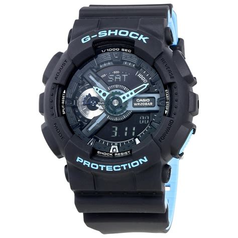 Casio G Shock Black casio g shock black s multifunction two tone