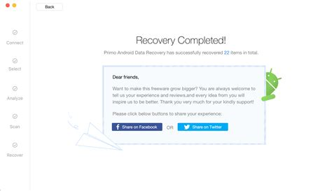 recover photos from android primo android data recovery guide recover from android device