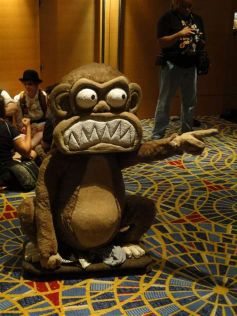 Evil Monkey In The Closet by