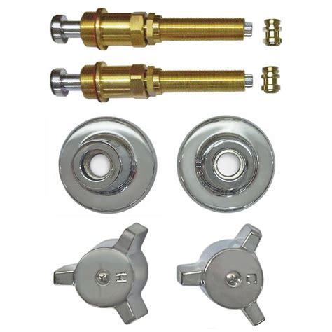 binford 2 valve rebuild kit for tub and shower with chrome