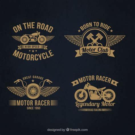 Logos Autos Y Motos by Logotipos De Motocicletas Descargar Vectores Premium