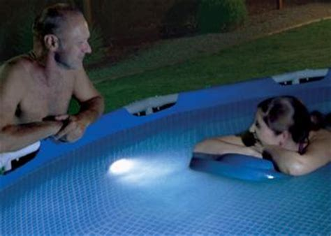 in ground pool lighting options above ground pool lighting options intheswim pool