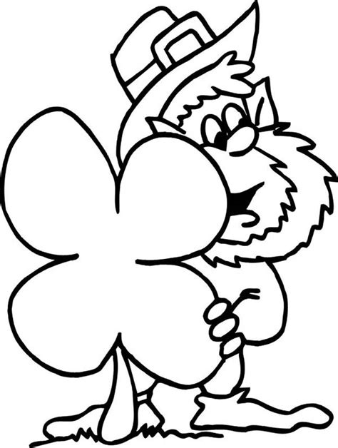 4 H Clover Coloring Pages by 4 H Pledge Coloring Page Sketch Coloring Page