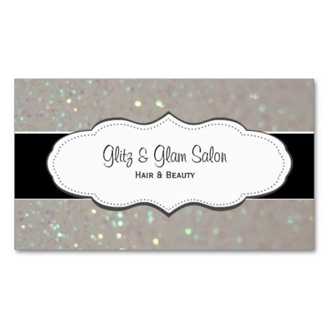 Sparkle Business Card Templates by Faux Glitter Business Cards Stuff