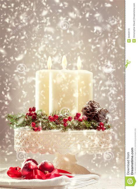 immagini di candele di natale candele di natale fotografie stock immagine 34453173