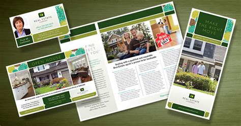 best photos of real estate marketing brochures templates