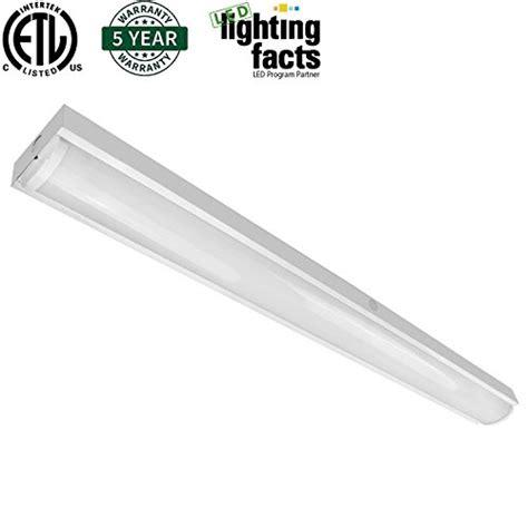 40w led ceiling light fixture l flush mount room hykolity 4ft led wraparound flush mount ceiling light 40w
