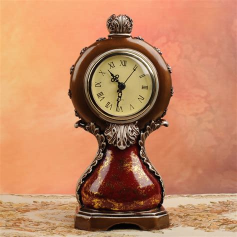 unique desk clocks antique style unique design decorative clock from yi bei