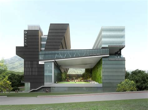 architectural design new cus development of chu hai college of higher