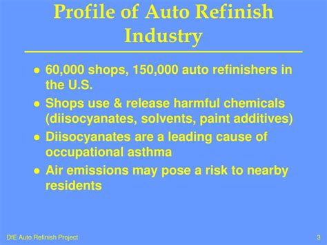 design for environment dfe ppt ppt epa design for the environment dfe auto refinish