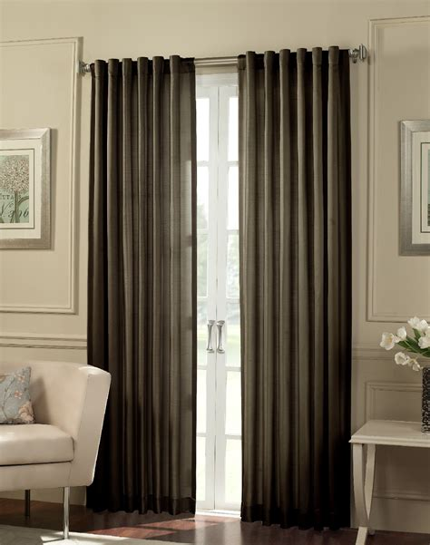 dark brown drapes furniture dark brown curtain panels for modern interior