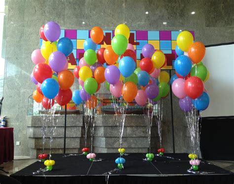 decoracion en globos adornos con globos ideas geniales para decorar una