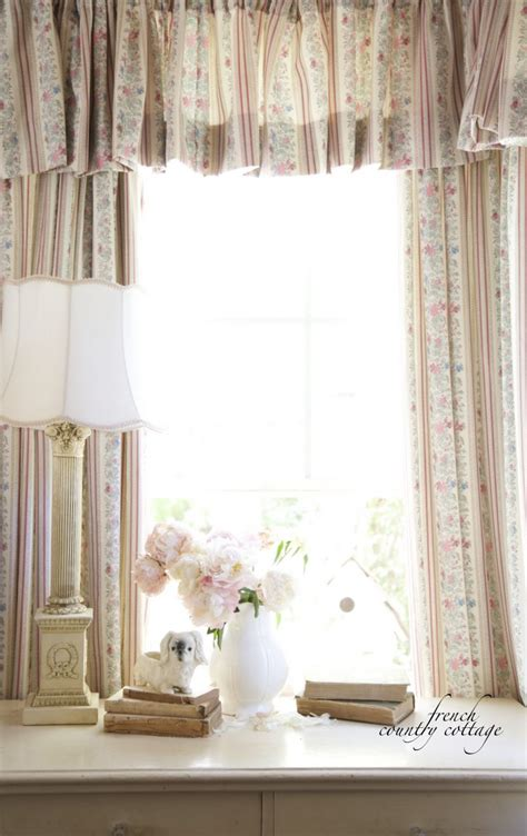 french country cottage curtains vintage french ticking curtains french country cottage