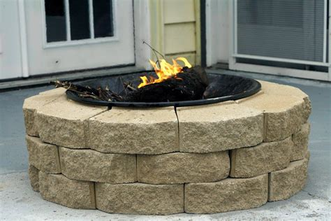 firepit pavers pit pavers ideas pit design ideas