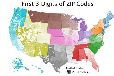 map of the united states zip codes free zip code map zip code lookup and zip code list