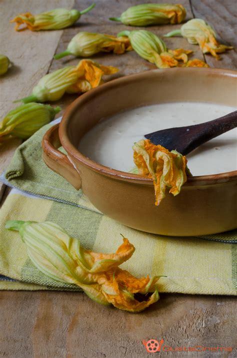 pastella con per fiori di zucca pastella alla per fiori di zucca senza uova il