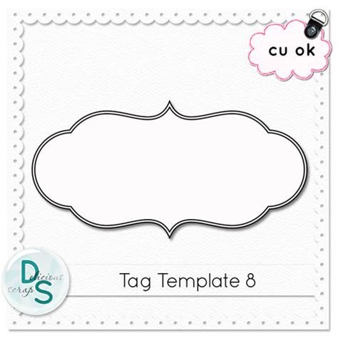html template tag delicious scraps free cu tag template