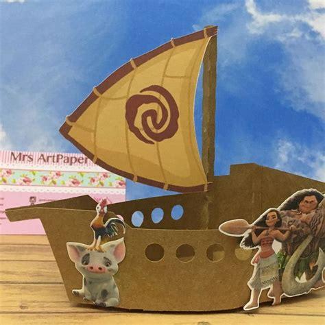 moana boat halloween resultado de imagen para moana boat 3d papercraft moana