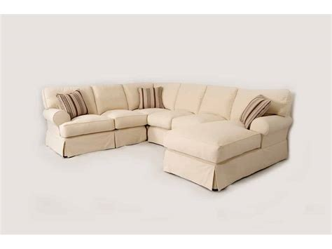 baldwin slipcover baldwin slipcover sectional brown squirrel furniture