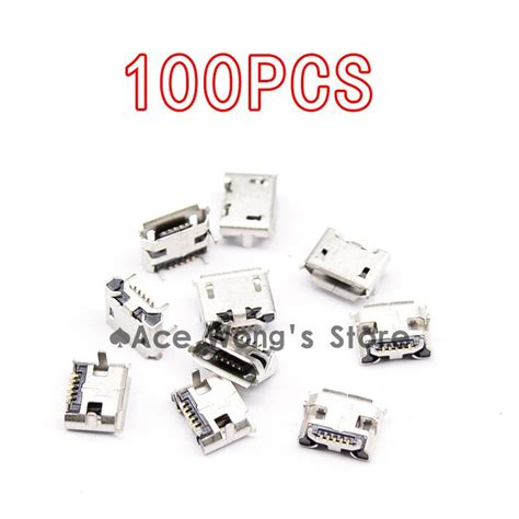 Best Quality Soket Usb For Pcb Socket Usb 4 Pin New High Quality Micro Usb Connector Type 5pin