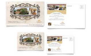 Real Estate Postcards Templates by Luxury Real Estate Postcard Template Design