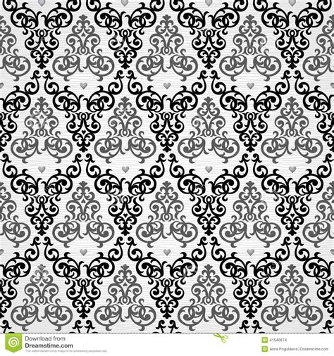 pattern victorian vector vector seamless pattern in victorian style stock vector