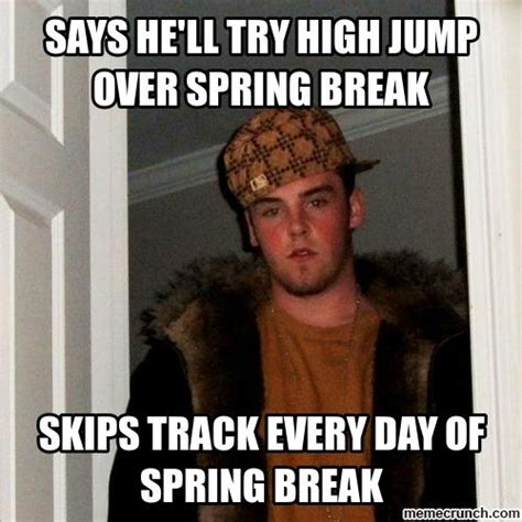 W 2 Meme - says he ll try high jump over spring break