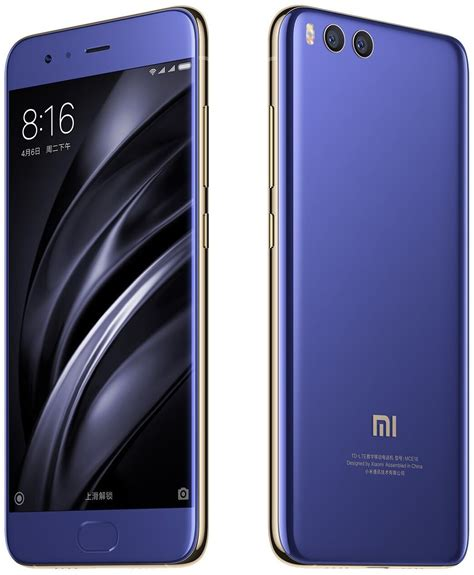 Xiaomi Mi 6 Ram 6 128gb Blue xiaomi mi 6 128gb ceramic specs and price phonegg