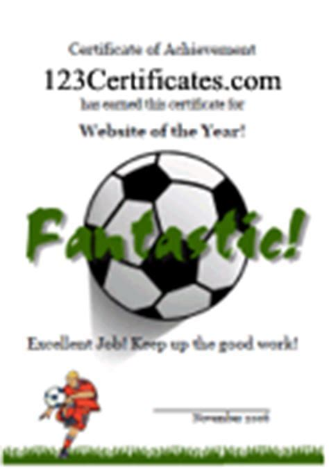 Football Certificates Templates Uk - Pics For > Football ...