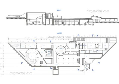 museum floor plan dwg dwg models download free cad blocks 187 page 6