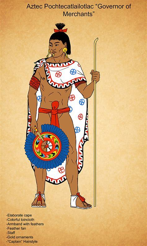 Aztec Wardrobe by Aztec Pochtecatlailotlac By Kamazotz On Deviantart Aztec