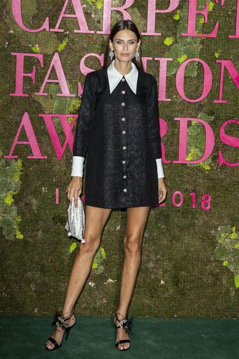 bianca balti red carpet 2018 bianca balti green carpet fashion awards in milan 09 23 2018