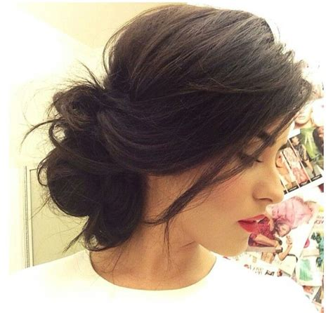 cute hairstyles messy buns the 25 best ideas about messy side buns on pinterest